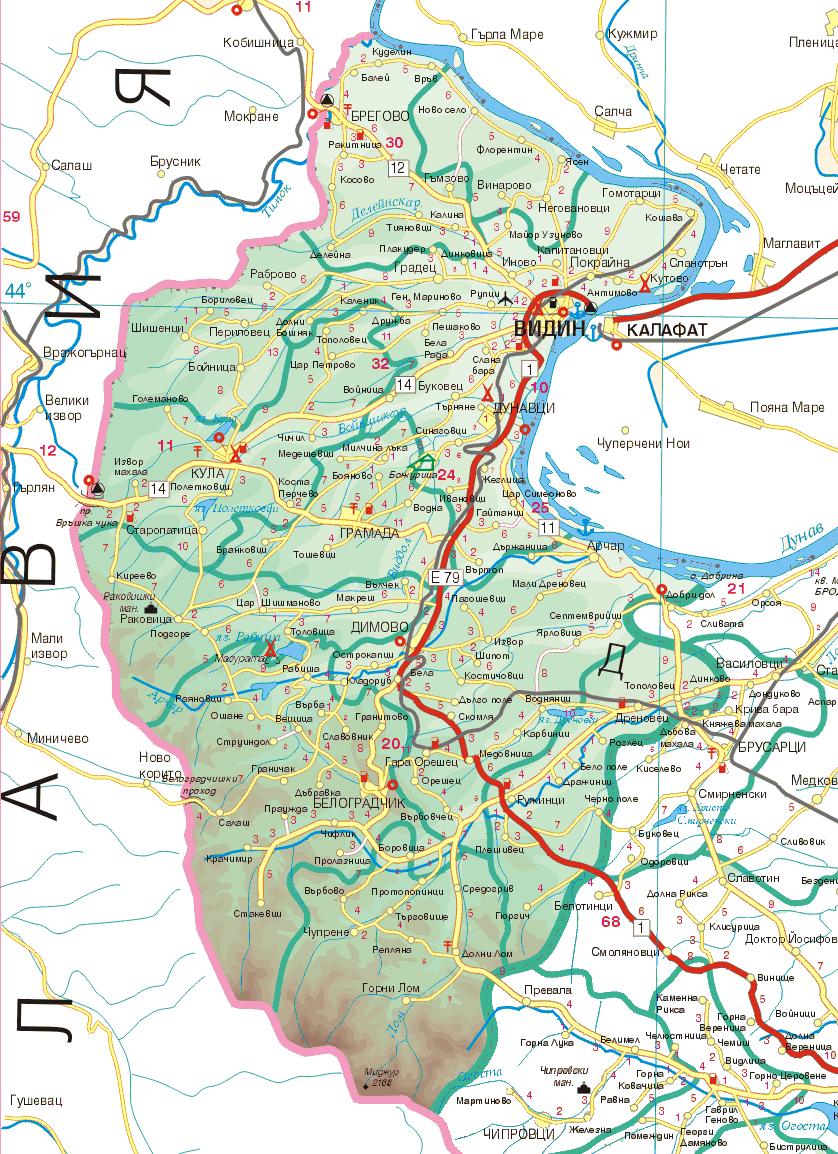 Карта на Видин | БИЗНЕС КАТАЛОГ | ВИДИН: http://e-vidin.com/vidin-map.html
